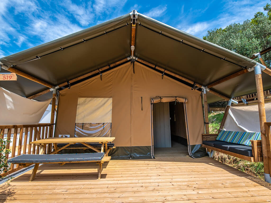 Two Bedroom Tent 4 2 Campsite Arena One 99 Glamping